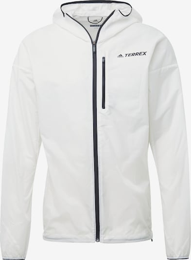 adidas Terrex Jacke in weiß, Produktansicht