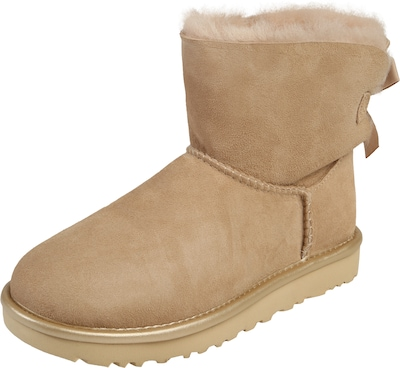 UGG Stiefel 'Mini Bailey Bow II Metallic'