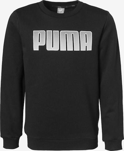 PUMA Pullover in schwarz / weiß, Produktansicht