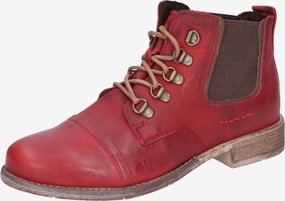 JOSEF SEIBEL Schnürstiefelette 'Sienna 09' in rot, Produktansicht