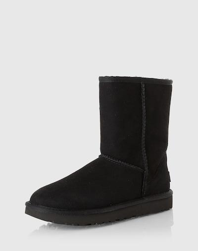 SUPERGA Stiefel in schwarz: Frontalansicht