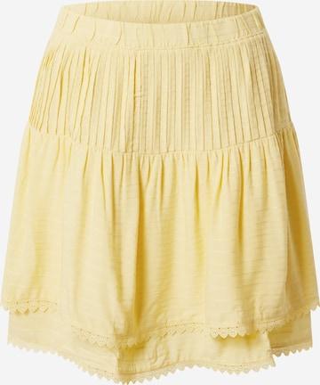 VERO MODA Skirt 'VMSIFF ' in Yellow