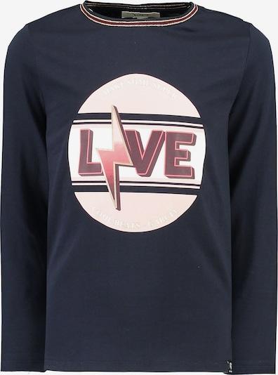 GARCIA Shirt in beige / navy / koralle / weinrot / weiß: Frontalansicht