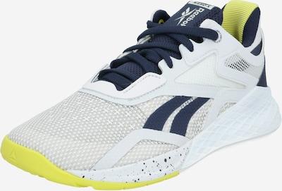REEBOK Sneaker in dunkelblau / gelb / weiß, Produktansicht