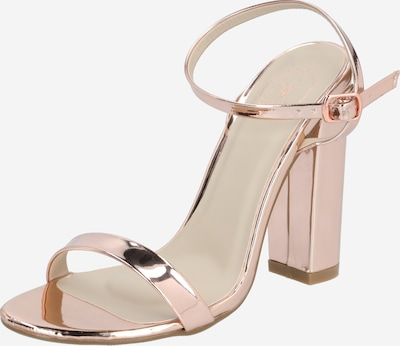 Missguided Sandale in rosegold, Produktansicht