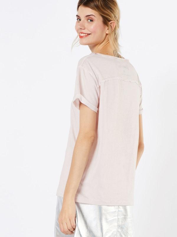 REPLAY T-Shirt mit offenem Ausschnitt