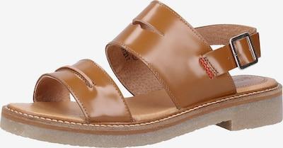 KICKERS Sandalen met riem in de kleur Camel, Productweergave