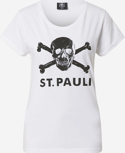 FC St. Pauli Functional shirt 'Totenkopf' in black / white, Item view
