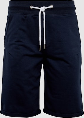 !Solid Broek 'Gibby' in Donkerblauw