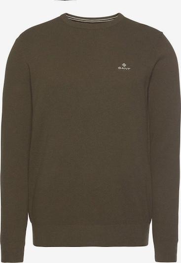 GANT Pullover in oliv, Produktansicht