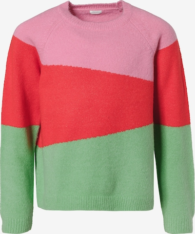 NEXT Pullover in mint / rosa / rot, Produktansicht