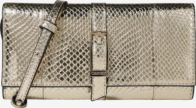 Calvin Klein Sac à bandoulière 'WINGED TRIFOLD ON STRING' en champagne / or, Vue avec produit