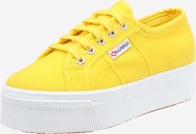 SUPERGA Baskets basses '2790 Acotw Linea' en jaune / blanc, Vue avec produit