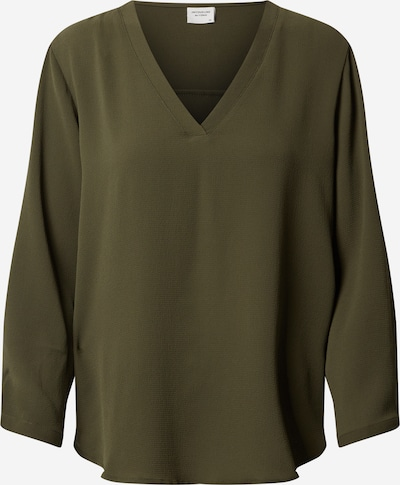 JACQUELINE de YONG Bluza 'Milo Noos'   oliva barva: Frontalni pogled
