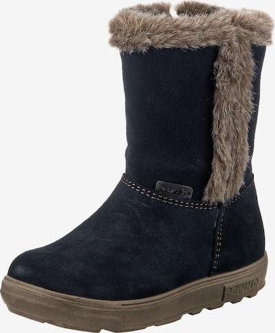 Pepino Stiefel in nachtblau / braun, Produktansicht