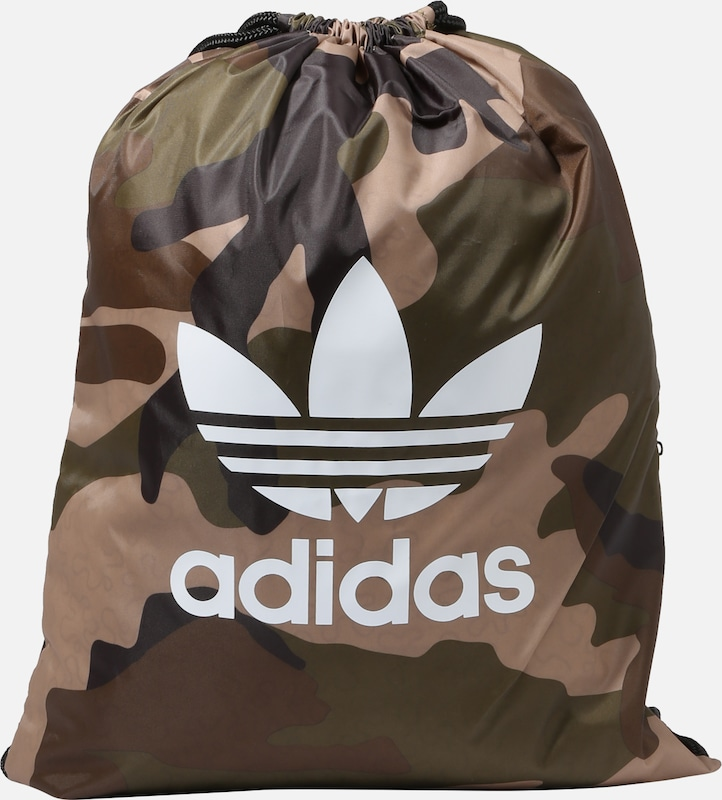 Camo' Cordon MarronVert Foncé Sacs 'gymsack Blanc Originals En À Adidas YbymIfv76g
