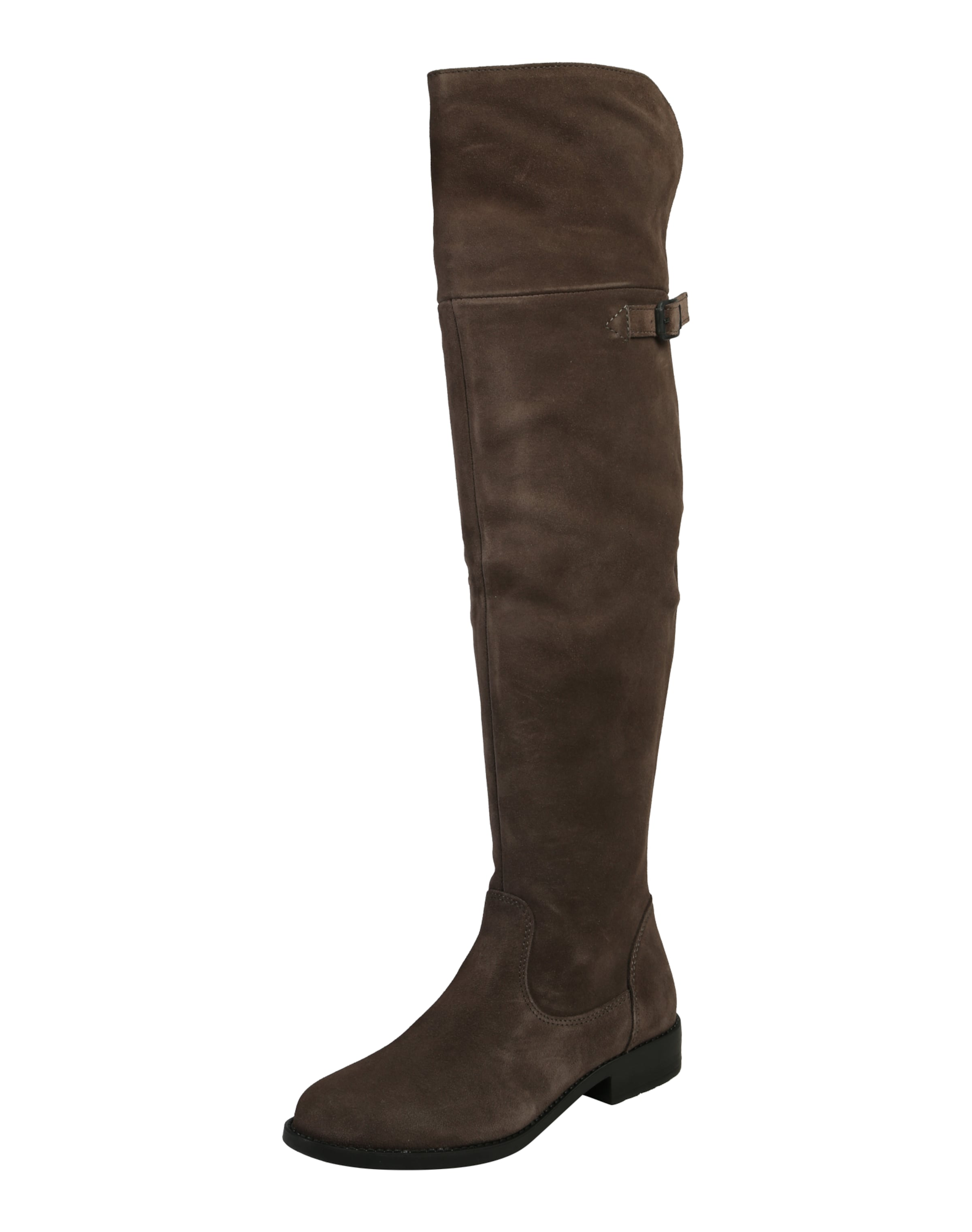 Haltbare Mode billige Schuhe TAMARIS | Overknees aus Veloursleder Schuhe Gut getragene Schuhe