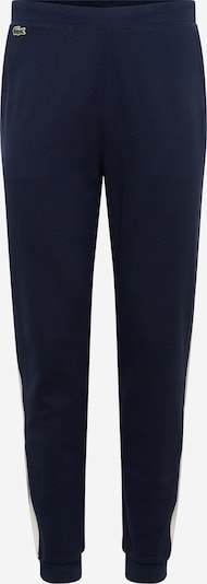LACOSTE Hose 'PANTALON DE SURVETEMENT' in marine / weiß, Produktansicht