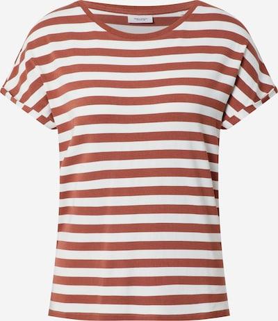 Marc O'Polo DENIM Shirt in de kleur Roestbruin / Wit, Productweergave