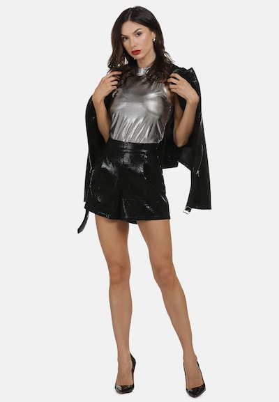faina Shorts in schwarz: Frontalansicht
