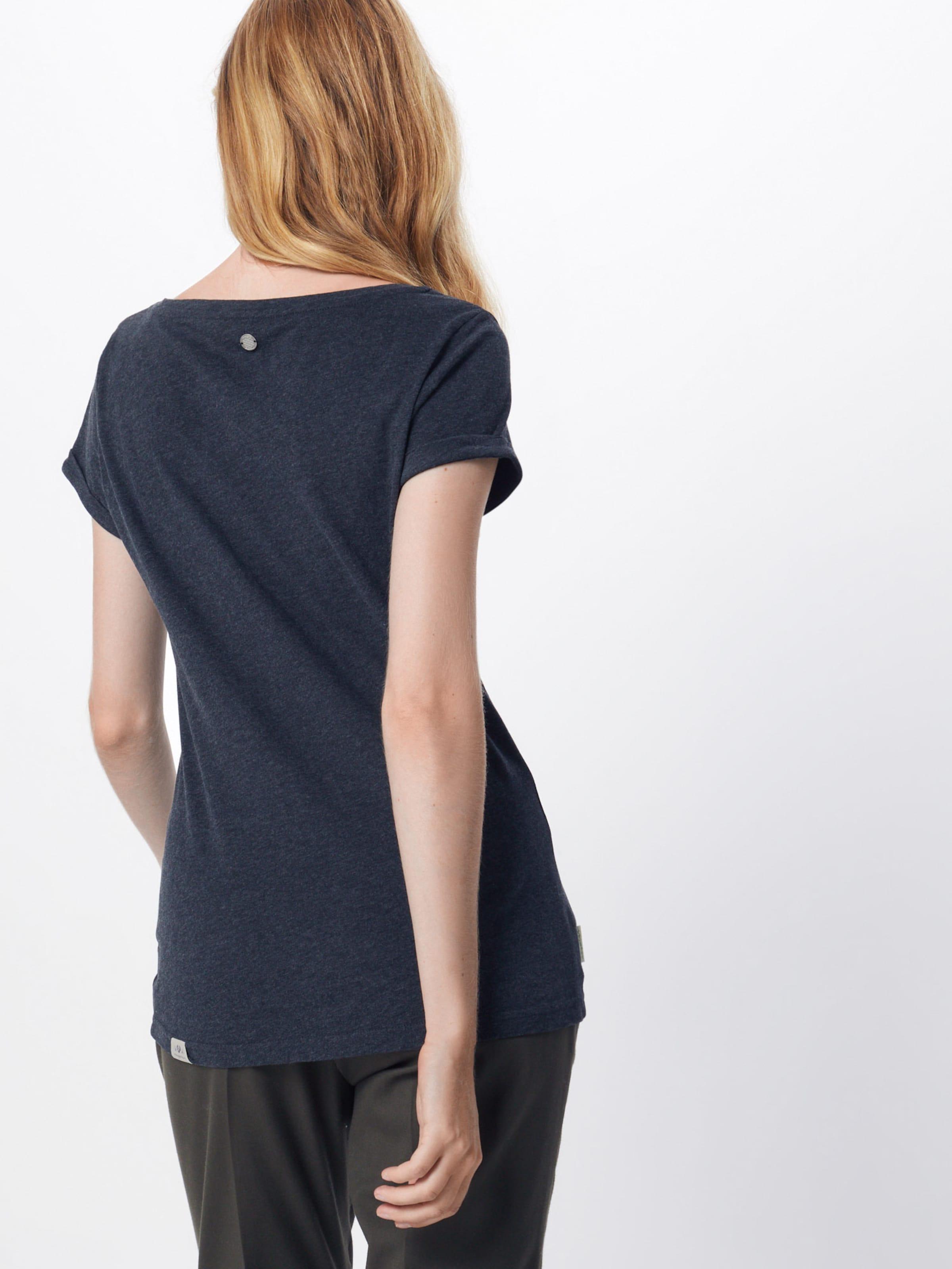 Ragwear T shirt 'florah Organic' En Noir 8mn0vwNO