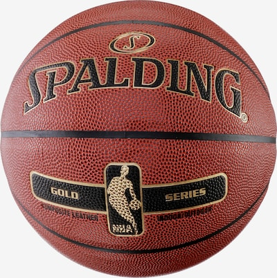 SPALDING NBA GOLD Basketball in hellbraun, Produktansicht