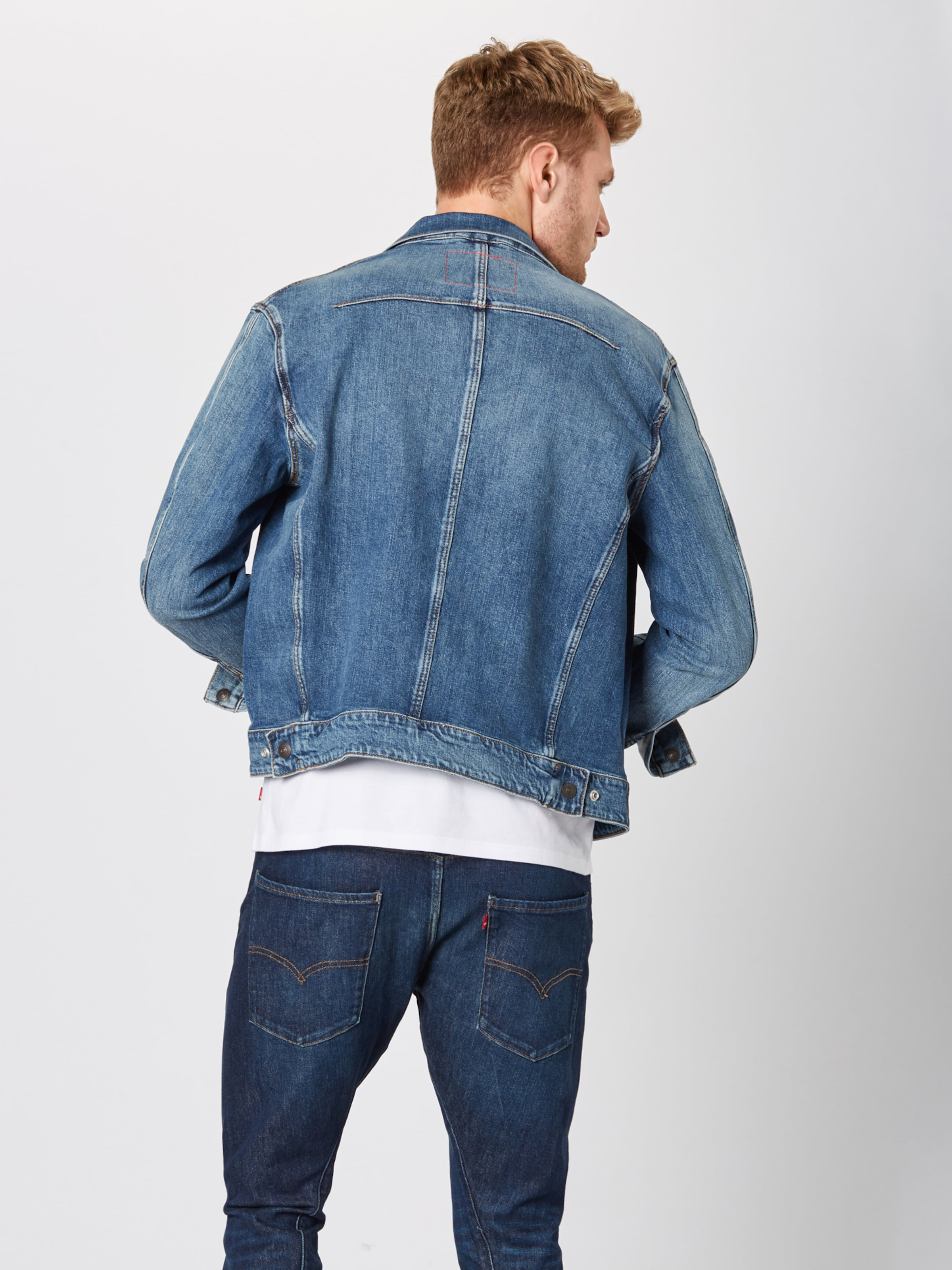 Trucker' In Levi's Denim Blue Jacke 'lej 5R4AjL