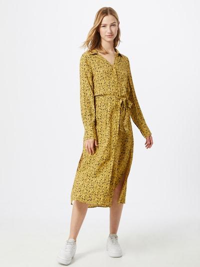 SOAKED IN LUXURY Kleid 'Halima' in gelb / schwarz, Modelansicht