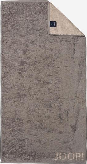 JOOP! Duschtuch 'Doubleface' in camel / rauchgrau, Produktansicht