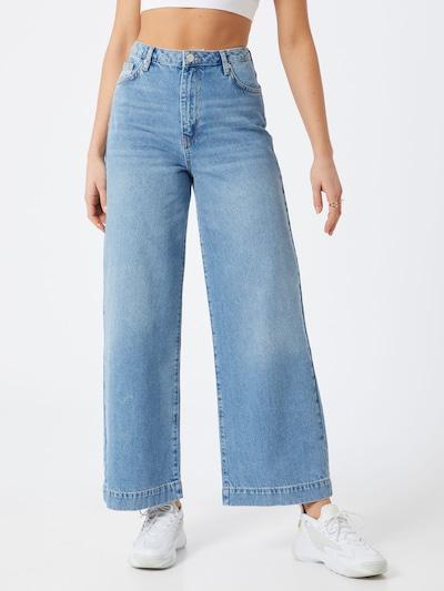 WHY7 Jeans 'Milla' in blue denim: Frontalansicht