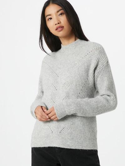 VILA Pull-over en gris clair, Vue avec modèle