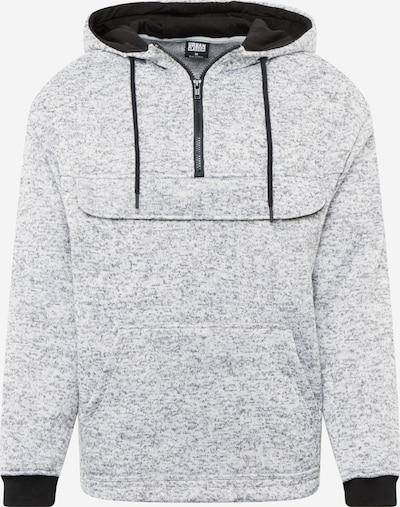 Urban Classics Пуловер в сив меланж / черно, Преглед на продукта