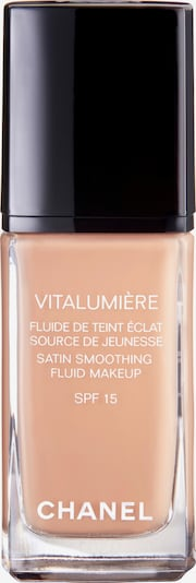 CHANEL 'Vitalumière Fluide' Fluid-Make-up in cappuccino: Frontalansicht