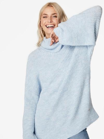 LeGer by Lena Gercke Oversized trui 'Juna' in de kleur Lichtblauw: Vooraanzicht