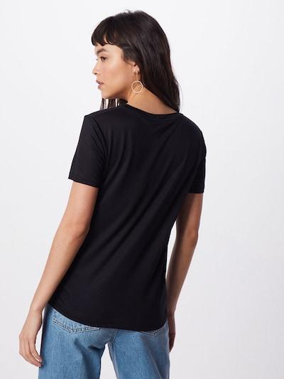 BRUUNS BAZAAR Koszulka 'Katka' w kolorze czarnym: Widok od tyłu