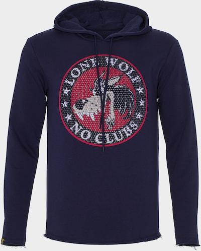 PLUS EIGHTEEN Sweatshirt in de kleur Blauw, Productweergave