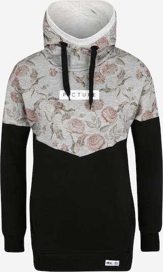 Picture Organic Clothing Sweat de sport en gris / noir, Vue avec produit