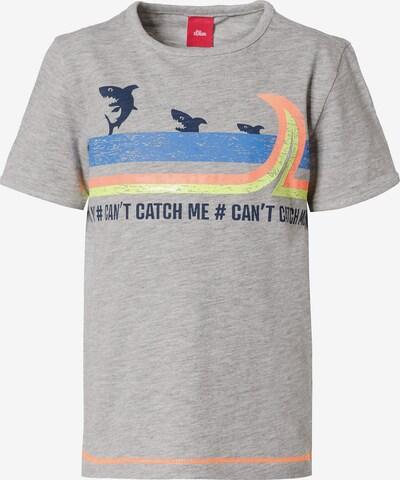 s.Oliver T-Shirt in graumeliert / mischfarben, Produktansicht