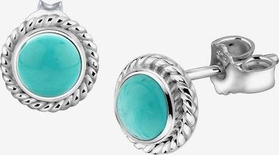 Nenalina Oorbellen in de kleur Turquoise / Zilver, Productweergave