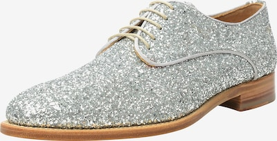 SHOEPASSION Halbschuhe 'No. 314' in silber: Frontalansicht