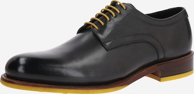 Gordon & Bros Čevlji na vezalke 'LEVET' | črna barva, Prikaz izdelka