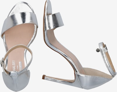 MICHALSKY FOR ABOUT YOU Sandale 'Holly sandal' in silber: Seitenansicht