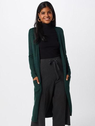 VILA Strickcardigan 'Ril' in grün, Modelansicht