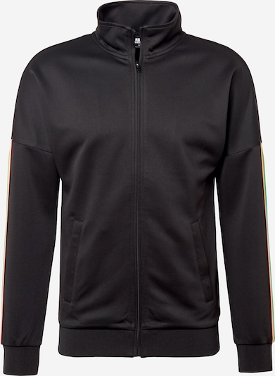 Urban Classics Jacke 'Sleeve Taped Track Jacket' in schwarz, Produktansicht