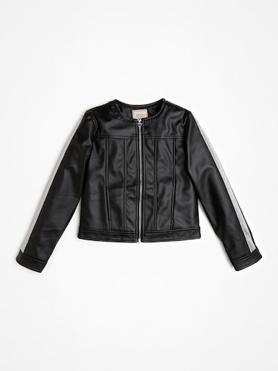 GUESS KIDS Jacke in schwarz / weiß, Produktansicht