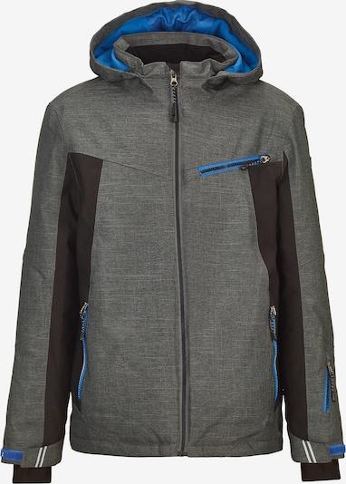 KILLTEC Skijacke 'Jedd Jr' in grau / schwarz, Produktansicht