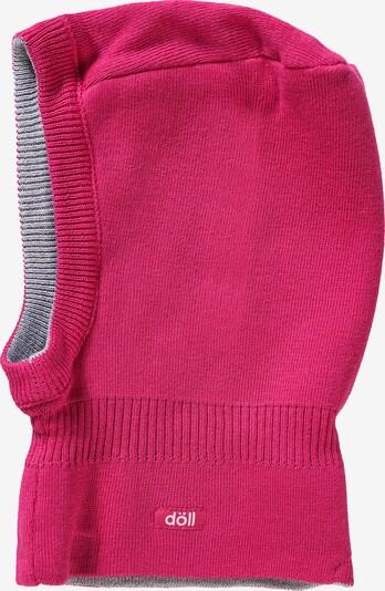 DÖLL Schlupfmütze in graumeliert / pink, Produktansicht