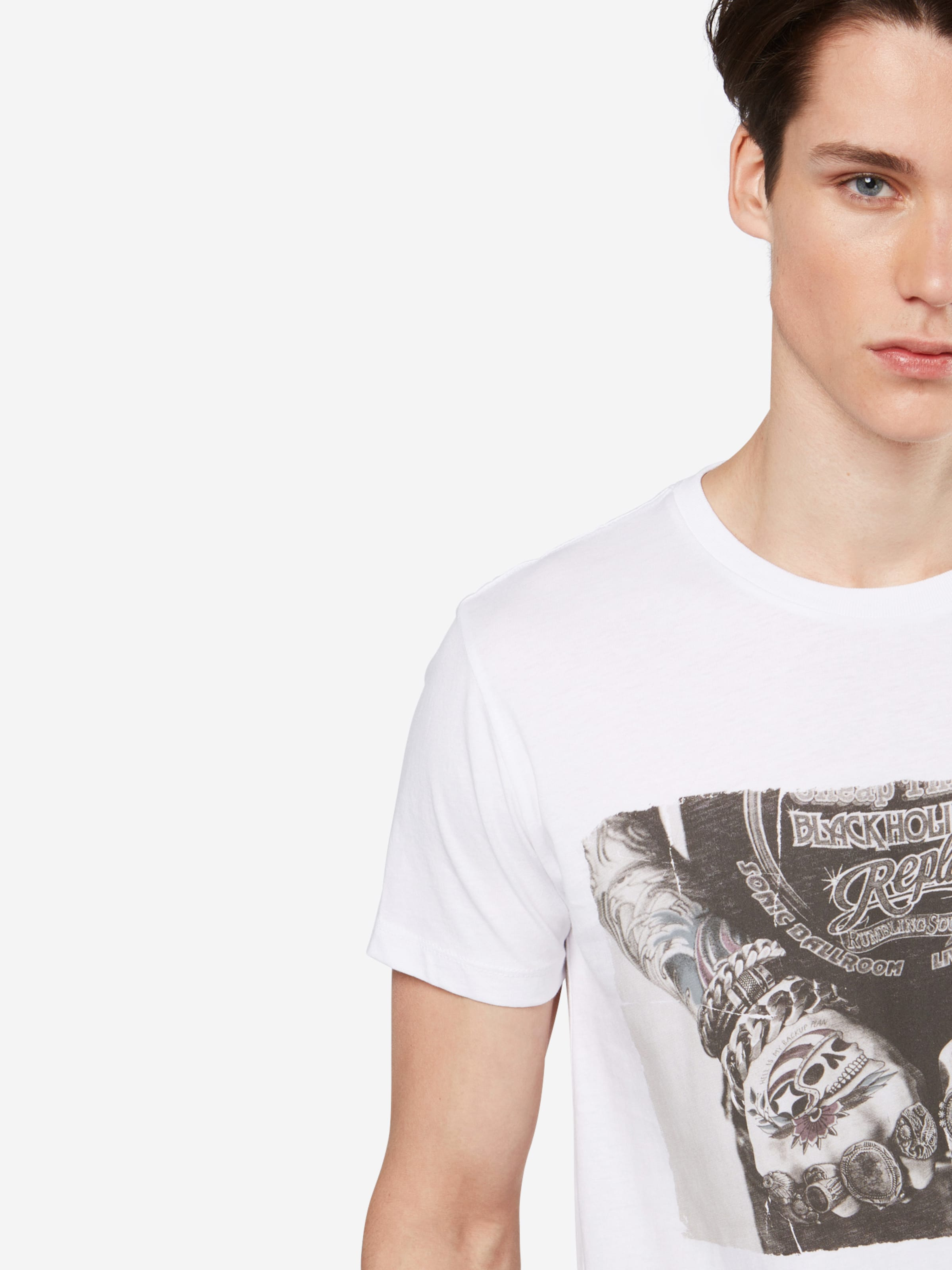 REPLAY T-Shirt Sneakernews 100% Authentisch nvImp