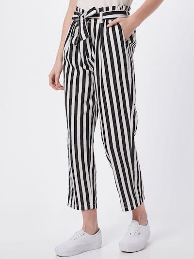 Pantaloni Herrlicher pe negru / alb, Vizualizare model