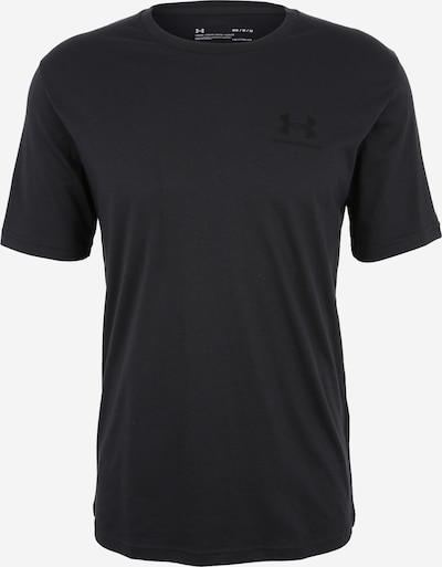 UNDER ARMOUR Shirt 'Sportstyle' in schwarz, Produktansicht